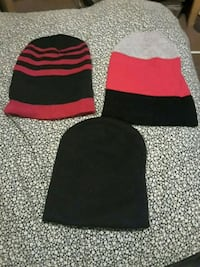 black and red knit cap Fayetteville
