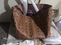 brown leather Louis Vuitton tote bag San Diego, 92105