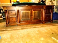 brown wooden sideboard with cabinet San Diego, 92114