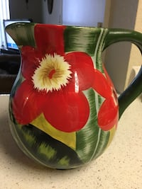 Beautiful Ceramic Pitcher