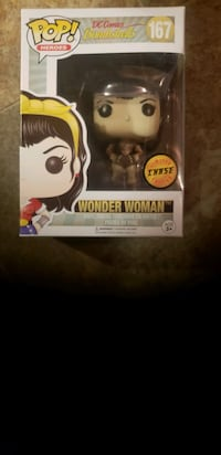 Limited Edition Sepia Funko Pop Wonder Woman  Douglas County