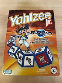 Yahtzee Jr. Battle B-Daman Edition USED-GOOD St. Catharines