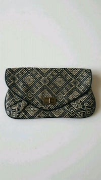 woven printed clutch Burnaby