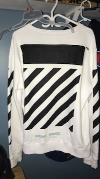 Off white seeing things crew neck