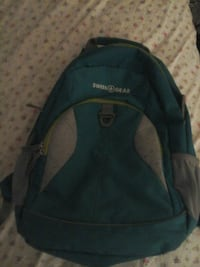 black and green The North Face backpack Hagerstown, 21740