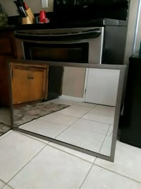 white wooden cabinet with mirror Bakersfield, 93304