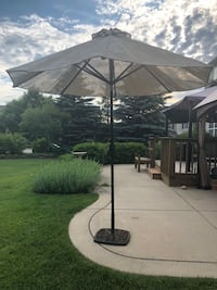 Patio Umbrella and stand South Elgin