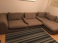 Sectional sofa price reduced for quick sell  Richmond, V7A 3Y8