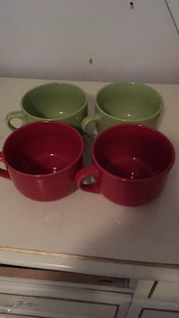 4 soup or cappuccino mugs North Vancouver, V7H 1L5