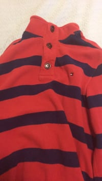 red and black striped polo shirt Mississauga, L5R 3E5