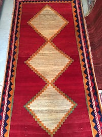 Handmade Wool Persian rug 4x8FT Rockville, 20852