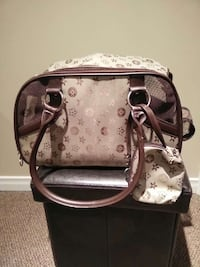 beige and brown small dog carrier bag Laval, H7R 0C2