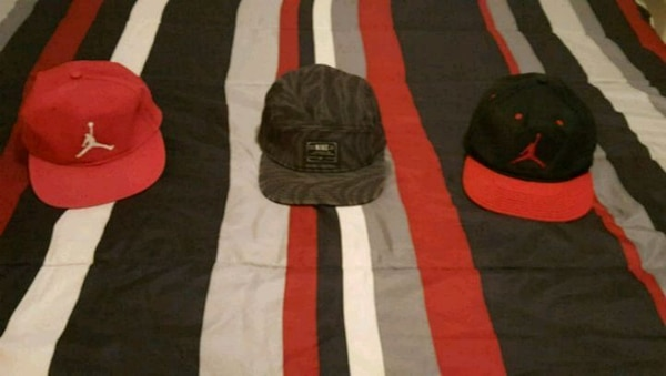 07c866146731 Used 2 Michael Jordan Hats and 1 Nike Hat for sale in Crowley - letgo