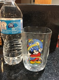 Mickey Mouse 2000 collectable glass