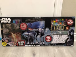 Star Wars painting & card broad play house