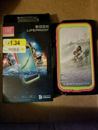 Lifeproof, new in box, fits Samsung galaxy S7 Gainesville, 32641