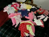 Baby girl  assorted clothes zise ranging from 0 t Tulsa, 74115