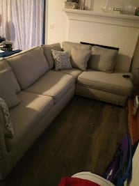 Sectional with Queen pullout bed