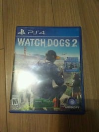 PS4 watch dogs 2 Lubbock, 79407