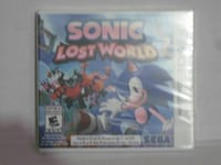 3ds sonic lost world brand new sealed