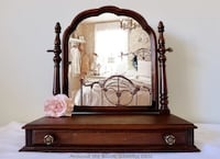 Antique swivel mirror with drawer  Mississauga, L5G 2K4