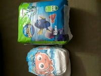 blue and white Pampers diaper pack Oakville, L6J 7G7