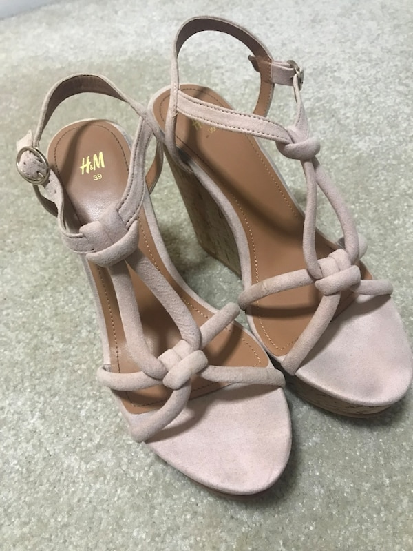 HM wedge sandals wedges 39