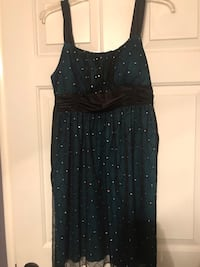 Teal and Black Dress  Hagerstown