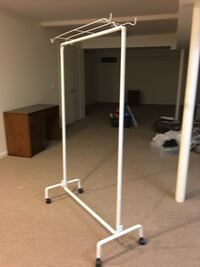 NEW Rolling clothing rack  242 mi