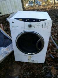 white front load washing machine Franklinville, 27248