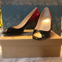 Brand New Christian Louboutin Degrade Yootish Heels - Size 9.5 Annandale, 22003
