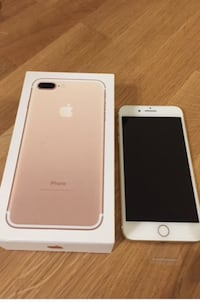 Rose Gold iPhone 7 pluss Stavanger