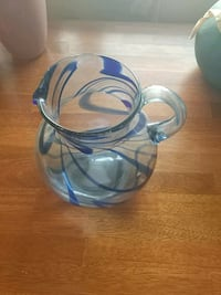 blue and white ceramic vase Kitchener, N2G 1E9