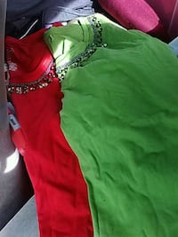 green and red sleeveless dress Carmichael, 95608