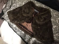 Wedding brown faux fur cape Toronto, M6H 3S6