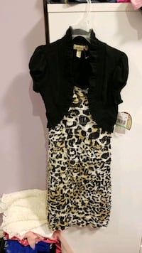 Little Girls Size 8 Animal Print Dress - NEW Mississauga, L5M 0B7