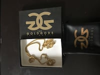 Gold Plated Chain & Pendant Coquitlam