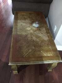 rectangular brown wooden coffee table Markham, L3S 3Y9