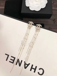 Brand new Chanel long drop earring  New York, 11354