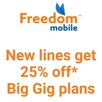Freedom lifetime 25% off Mississauga, L5B 1C9