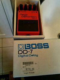 Boss mega distortion  Edmonton, T5B 1K1