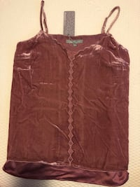 Women's brown spaghetti strap top Las Vegas, 89148