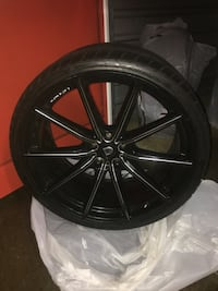 22in Lexani Wheels and Tires