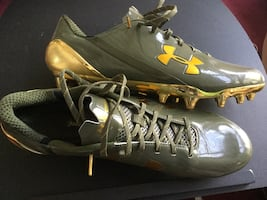 New Under Armour soccer cleats