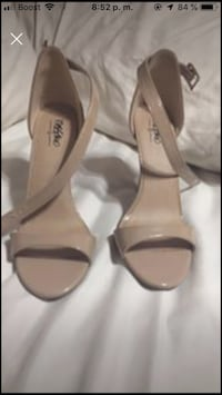 Heels shoes nude color Houston, 77074