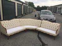 French Provincial sectional sofa Allentown