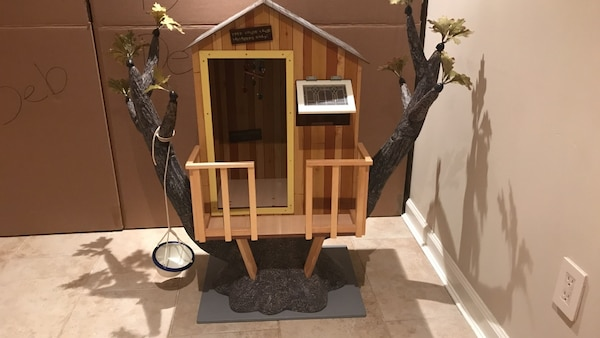 7f5fe63e1bc Used American Girl Doll Kit s Tree House for sale in Locust Valley ...