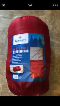 Red Rectangle Sleeing Bag San Diego, 92114