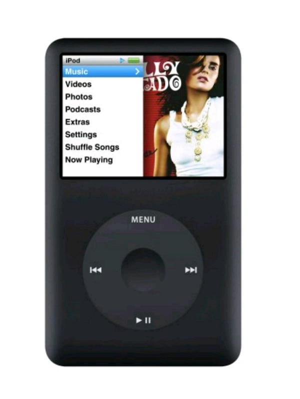 Apple iPod Classic Negro 80GB (6° GEN)