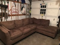 2 Piece Sectional Couch Chicago